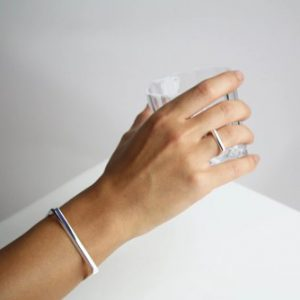 Collectors Items - Facet silver ring