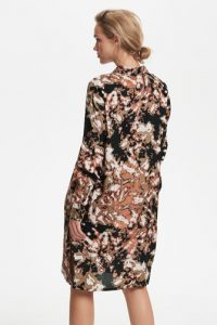Kaffe - printed shirt dress
