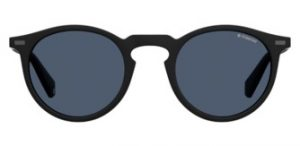 Polaroid - black round sunglasses