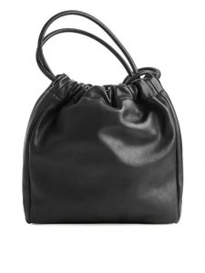 Arket - soft leather bucket bag