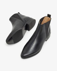 Royal RepubliQ - black pointed Chelsea boots