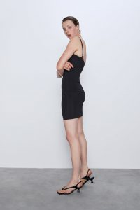 Zara - black shapewear dress
