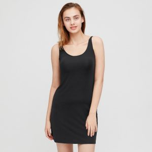 Uniqlo - black AIRism slip