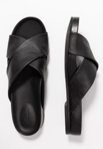 Clarks - black Pure Cross sandal
