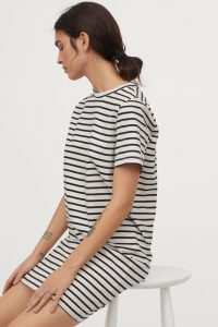 H&M - striped t-shirt dress
