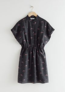 & Other Stories - relaxed button mini dress