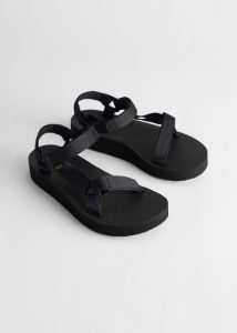 & Other Stories - black Teva velcro sandals
