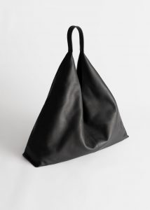 & Other Stories - smooth leather tote bag