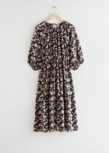 & Other Stories - voluminous raglan sleeve midi dress