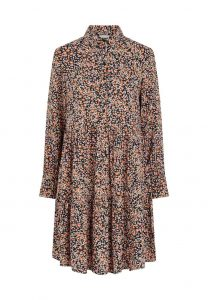 Pieces - floral Dojana shirt dress