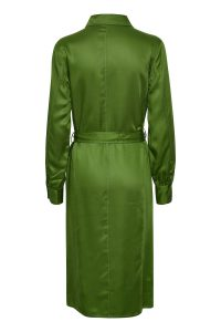 Soaked in Luxury - green shirt dress