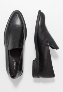 Vagabond - black Frances loafer